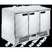 Bancada Frigo Refrigerada em Aço Inox 3 Portas Especial