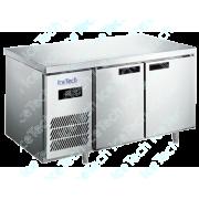 Bancada Frigo Refrigerada em Aço Inox 2 portas