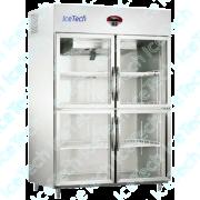 Armario Frigorifico Refrigerado em Aço Inox 4 Portas de Vidro para Medicamentos